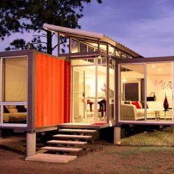 Oklahoma City home incorporates shipping container into design